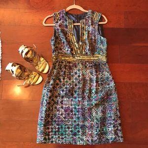 Nanette Lenore Silk Print Dress